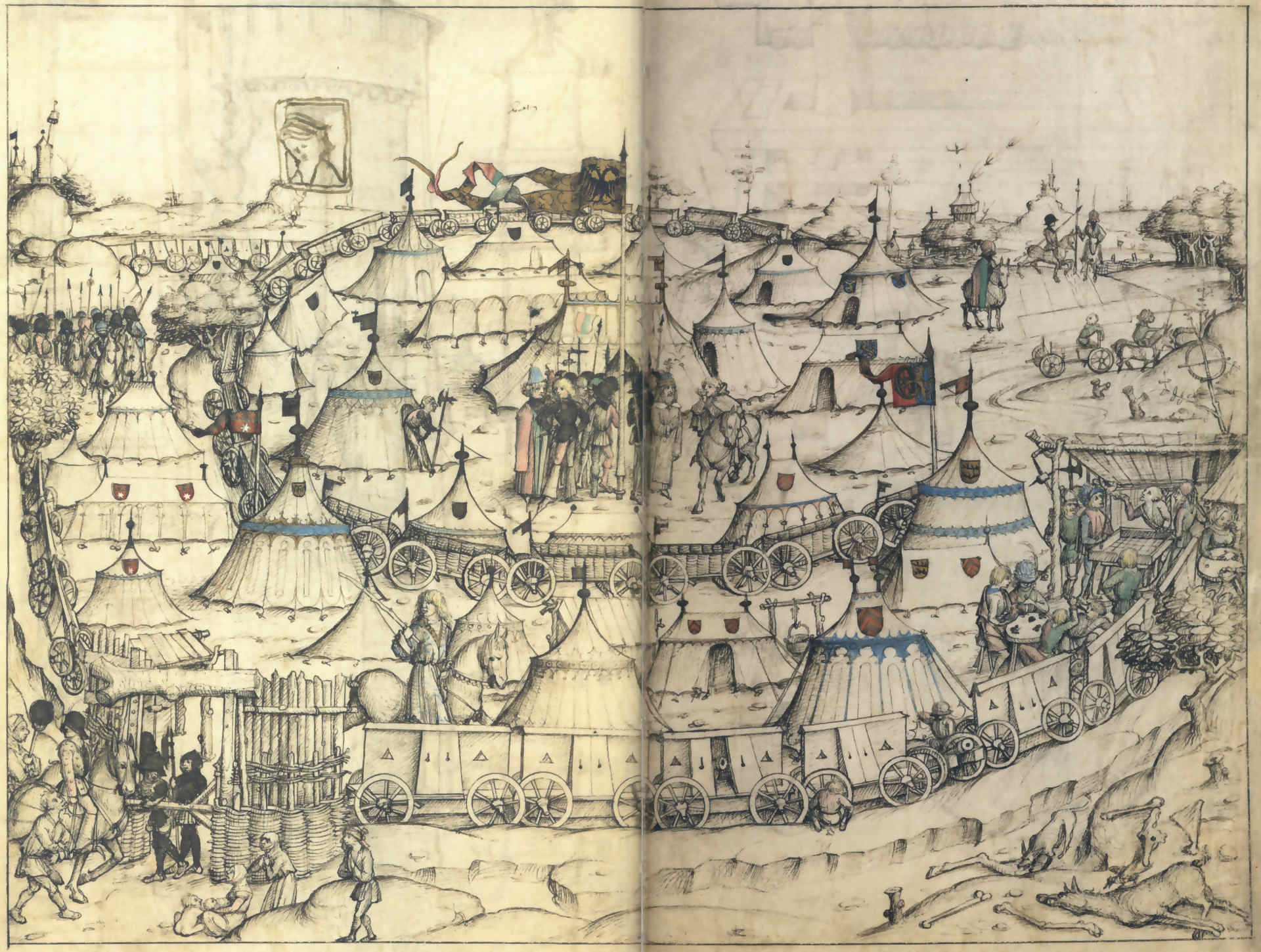 Wolfegger Hausbuch, fol 53r-53r1